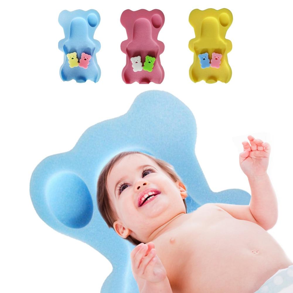 Baby Bath Sponge Mat Non slip Sponge Mat Cute Cartoon Bath Mat Mom ...