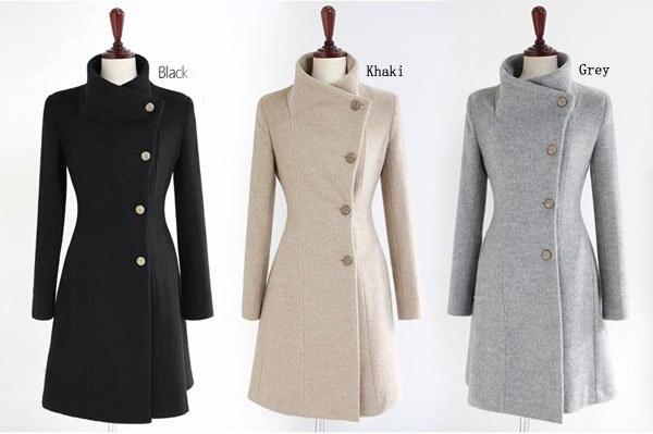 3298fe90676a Free Shipping Fashion Women Long Cashmere Coat With Belt