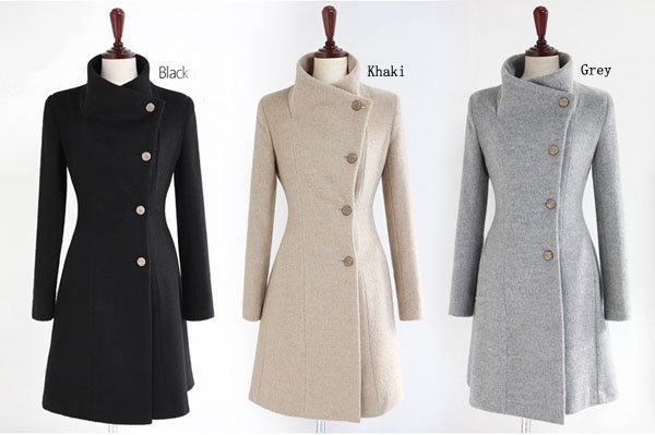 Free Shipping Fashion Women Long Cashmere Coat With Belt, Warm Winter Clothes Girl Overcoat Coat Woman Ladies Outerwear  HC520