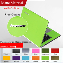 New Free cutting Dust-proof Pure Color Laptop Sticke Personality Skins Protective Decal StickersFor lenovo Y430P/Z410/N40/Z40(China)