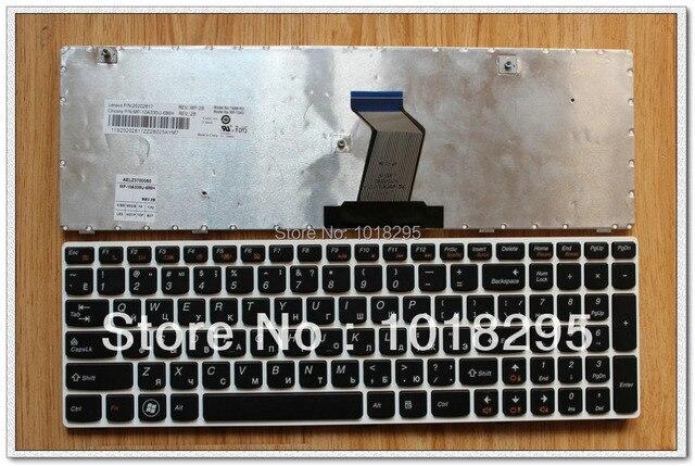 Новый ДЛЯ Lenovo IdeaPad G580 G580A G585 G585A серии RU Клавиатура Белая Рамка MP-10A33SU-686H