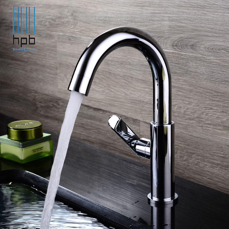 HPB Free Shipping Brass Cold Water tap Bathroom Basin Faucet Sink taps grifos para lavabos torneira banheiro HP9003 hpb square brass basin faucet hot and cold water single hole handle sink bathroom faucets mixer tap grifos para lavabos hp3037