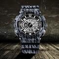 SANDA Luxury Brand LED Digital Mens Military Watch Men Sport Watches 3ATM Swim Climbing Outdoor Men Wristwatch relogio masculino