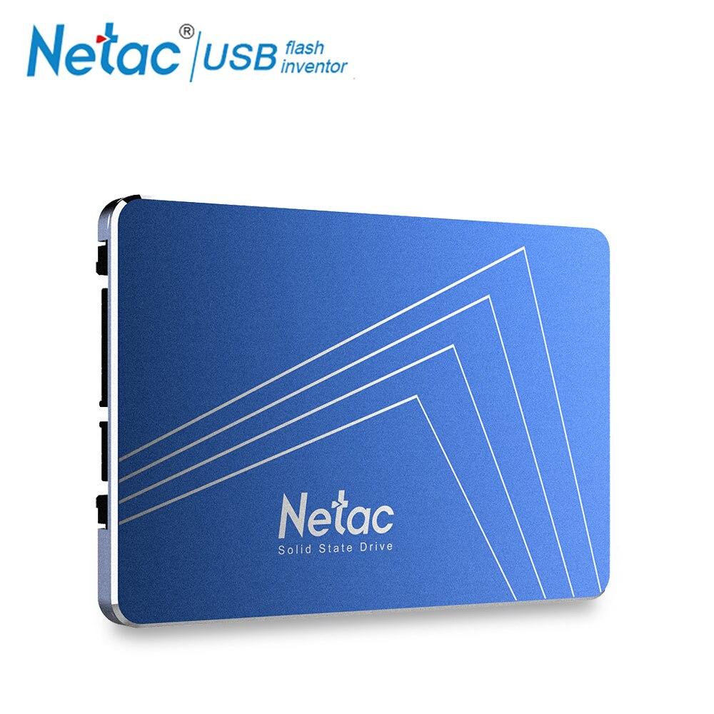 Netac disque dur ssd 1 TB SATA3 720 GB 720 GB TLC Interne Solid State Drive 2.5 Lecteur Portable Disque 1 TB pour Ordinateur Portable ordinateur pc