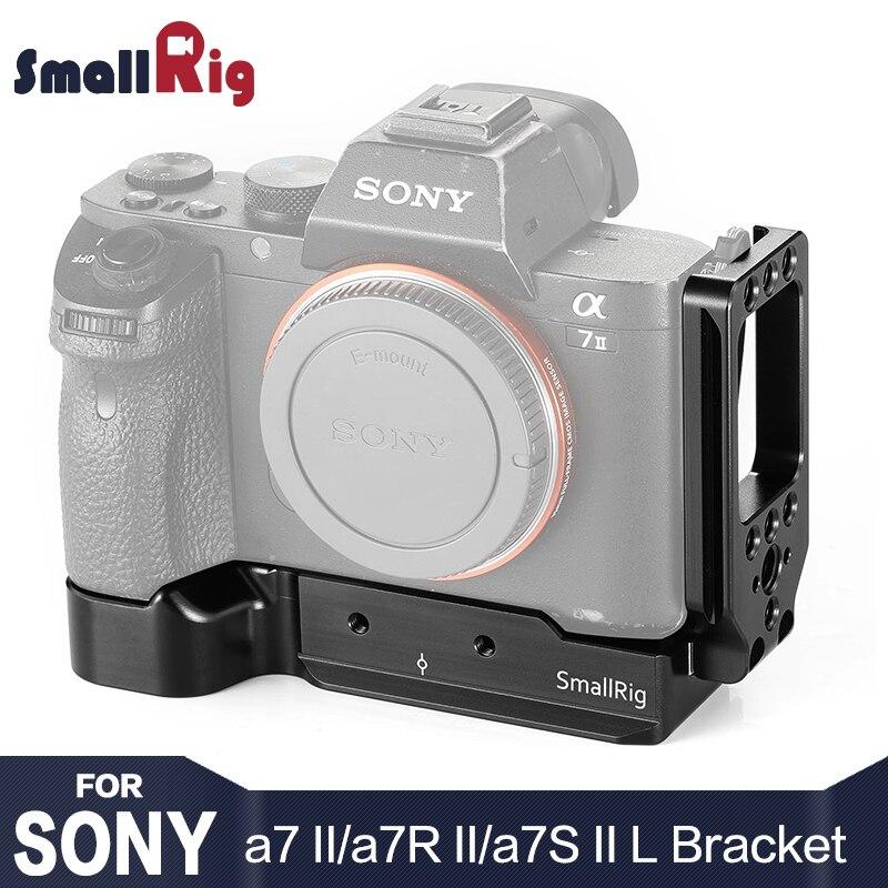 SmallRig A7M2 DSLR Caméra L Plaque L-Support pour Sony a7II/a7RII/a7SII Caractéristique Arca Suisse Plaque pour Trépied Joindre 2278