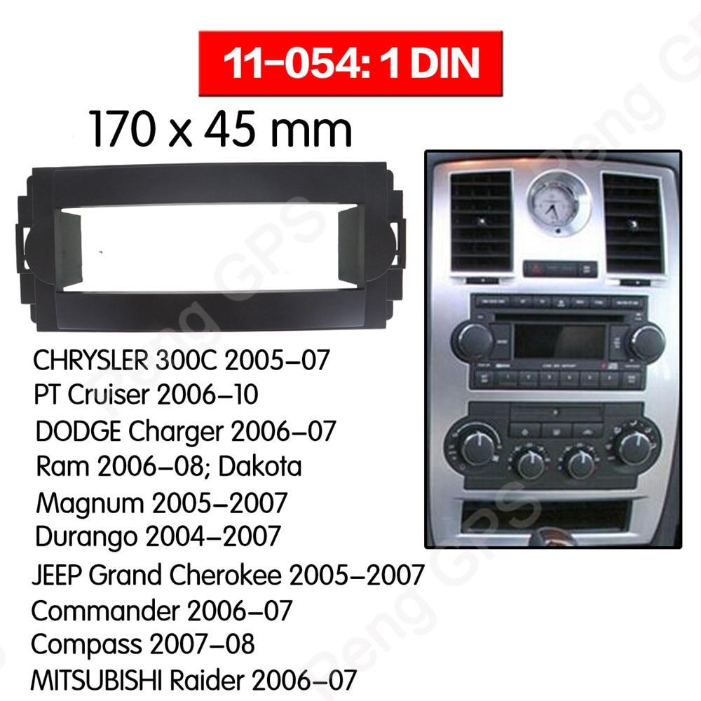 2004 2005 2006 2007 Dodge Durango Magnum Ram  Double Din Dash Kit Radio Package