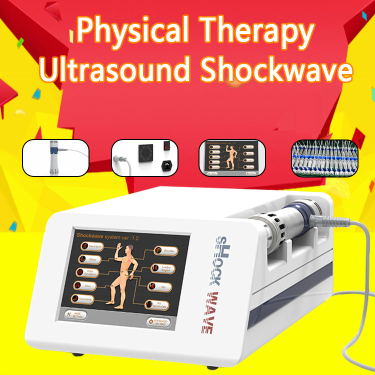 Manufacturer Direct Sale Top Portable Shockwave Therapy Machine Extracorporeal Shock Wave Therapy Equipment For ED Treatments