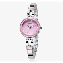 Ventas calientes! Kimio Mujeres de La Manera Visten Relojes Señoras Del Vestido de Pulsera Relojes de Las Mujeres Del Diamante Joya Lucky Clover Relojes de Cuarzo