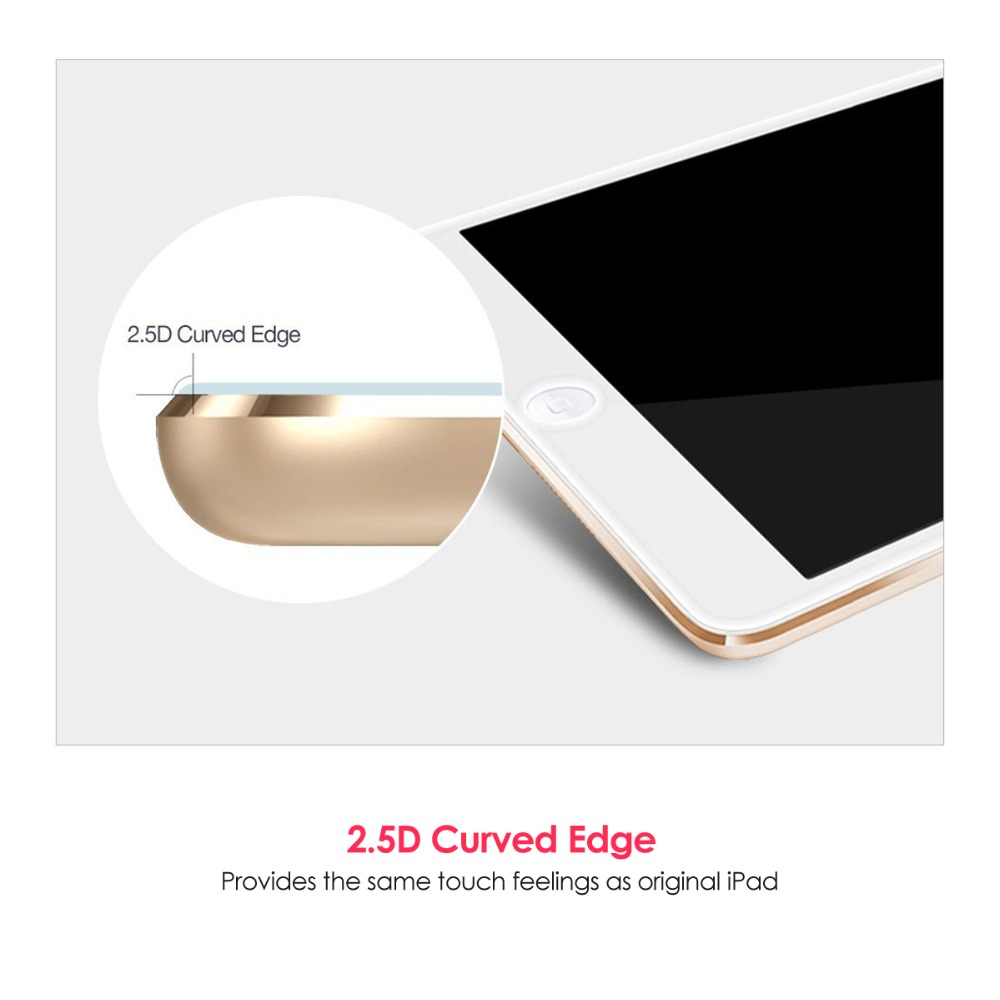 Premium Matte 2 5 D Hard Tempered Screen Protector glass for iPad pro 10 5 inch Anti Fingerprint Anti oil Protective Film in Tablet Screen Protectors from Computer Office