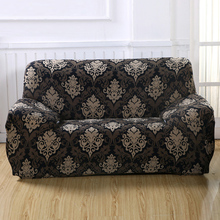 Slipcovers Sofa flowerpattern tight wrap all-inclusive slip-resistant sectional elastic full sofa Cover  One/Two/Three/Four seat