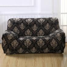 Hussen Sofa flowerpattern engen wickelkleid all-inclusive rutschfeste schnitts elastische vollen sofa Abdeckung Ein/Zwei/drei/Vier sitz