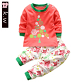 Brand Baby's SetsnToddler Boy Girl Clothes With Cotton Long Sleeve Newborn Clothing Infant criancas Definir Roupas de bebe