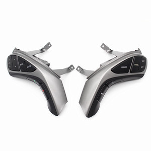 Image 4 - Кнопочный переключатель PUFEITE для Hyundai Elantra i30, кнопки на рулевое колесо, контроллер круиз для телефона, автомобильные аксессуары