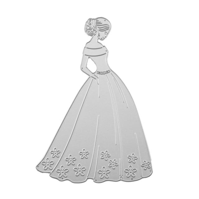 Scrapbook Wedding DIY Dress Pattern
