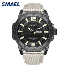 Men Watches Quartz SMAEL Watch Luxury Brand Waterproof Sport Clock 1316 Casual Male Wristwatches Bussiness