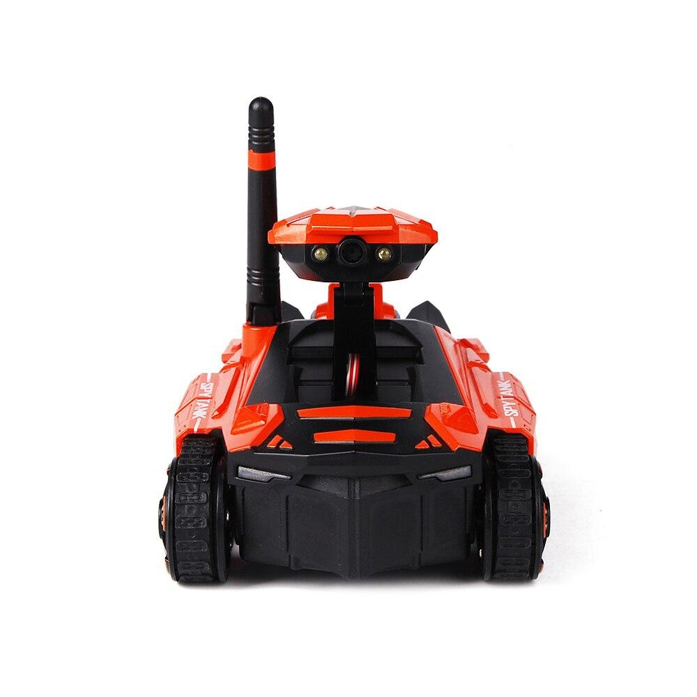 Réservoir RC avec caméra HD ATTOP YD-211 Wifi FPV 0.3MP caméra App télécommande réservoir RC jouet téléphone contrôlé Robot modèle cadeaux de noël