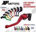 ЧПУ Короткие Регулируемые Тормозные Рычаг Сцепления Для Suzuki GSF250 Bandit Все Годы GSF600 1995-1999 GSF600S 1996-2003 Новый