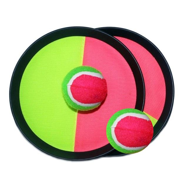Crianças raquete ventosa bola jogo pai filho brinquedos ao ar livre incluem 2 2 bola