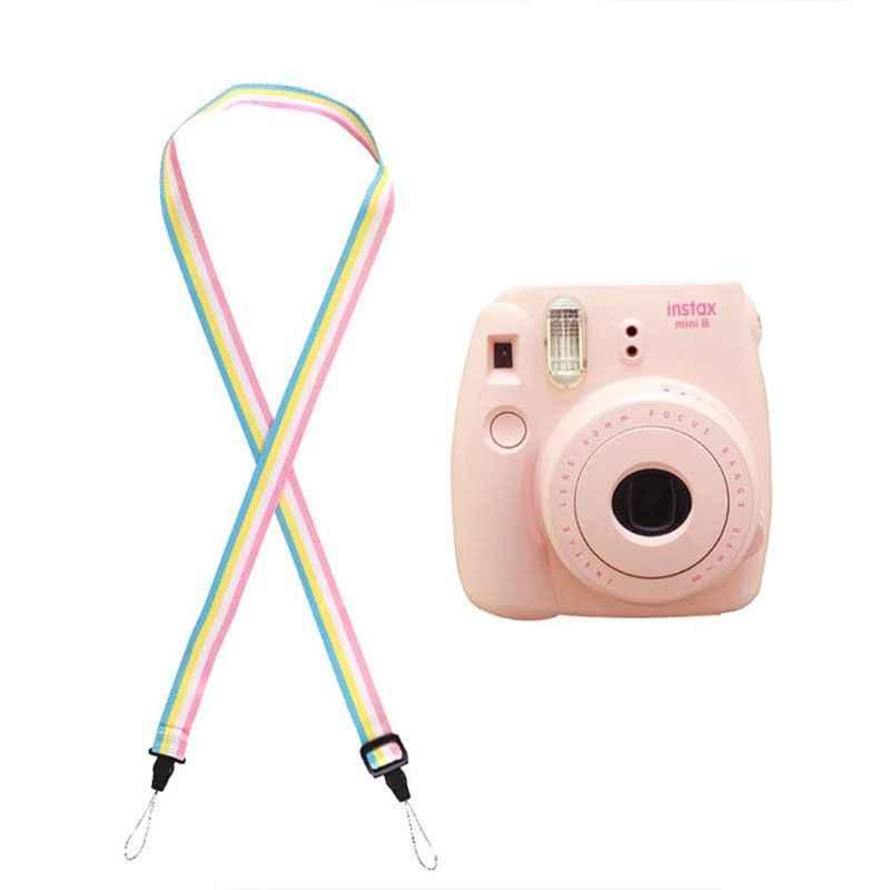 Cổ Dây Đeo Vai Dây Ban Nhạc Cho Polaroid Fujifilm Fuji Film Instax Mini 90 70 50 25 7S 9 8 8 Instant In Hình Máy Chụp Hình