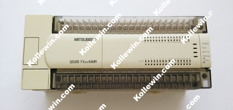 FX Series PLC FX2N-64MR-ES/UL, Base Unit 32DC Input 32 Relay Output 85-264VAC FX2N-64MRES/UL,MELSEC FX2N64MRES/UL, FX2N64MRESUL professional honest and fx series plc cable a900 touch screen fx9gt cab0