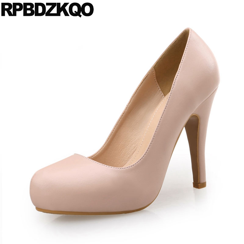 High Heels 11 43 Thin Gold For Women 10 42 3 Inch Extreme Lavender Round Toe Pumps Big Size Office Nude Ultra Purple Shoes big size 40 41 42 women pumps 11 cm thin heels fashion beautiful pointy toe spell color sexy shoes discount sale free shipping