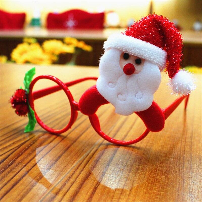 Regali Di Natale Per Bambini Asilo.Us 1 96 26 Di Sconto Super Cute Occhiali Telaio Bambino Di Natale Regali Creativi Per I Bambini Natale Giocattoli All Asilo Fantasia Palle Costume