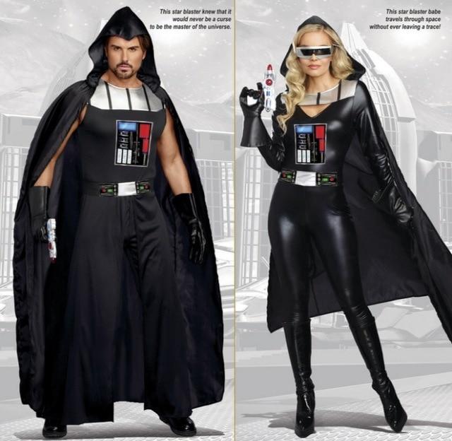 New Darth Vader Terry Jedi Black Robe Star Wars Jedi Knight Hoodie Cloak Halloween Cosplay Costume & New Darth Vader Terry Jedi Black Robe Star Wars Jedi Knight Hoodie ...