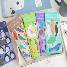 1pack /lot Lovely Zoo Memo Pad Self-Adhesive N Times Sticky Notes Office School Supplie все цены