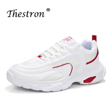 цена на Thestron 2019 Men Sport Running Shoes Spring Autumn Breathable Men Sneakers Cushioning Athletic Shoes Walking Jogging Sneakers