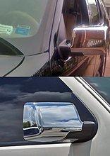 Тройной хромированные дверные Зеркало Обложка для 06-11 Ford Ranger/06-10 Explorer/07- 10 explorer sport trac/06-09 Меркурий 1 пара