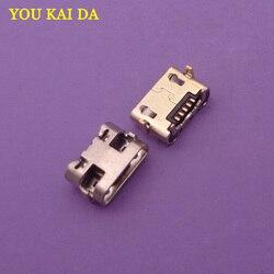 200 pçs para huawei y5 ii CUN-L01 mini micro usb jack porto de carregamento conector do carregador tomada de alimentação doca substituição reparo