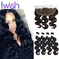 Malaysian Virgin Hair Body Wave With Frontal Closure Malaysian Body Wave With Closure 7A Unprocessed Virgin Hair With Frontal