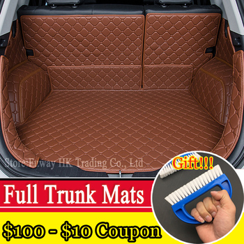 Full trunk 3D mats  leather for Mercedes Benz B180 C200 E260 CL CLA G GLK300 ML S350/400 class all weather tray carpet cargo