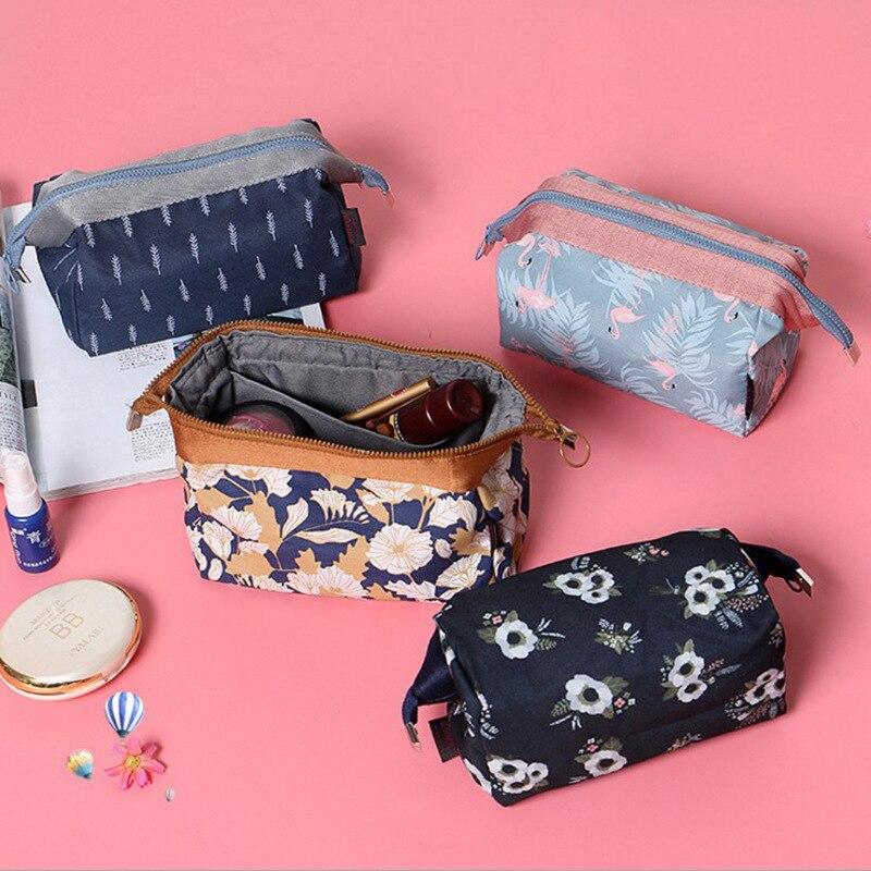 Travel Girl Makeup Box Cosmetic Bags Woms