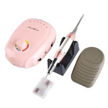 35000rpm Electric Nail Drill Machine Nail File Treatment Drill Manicure Pedicure Kit Nail Art Equipment Grinding Polishing Tool 220v eu plug pro electric nail drill machine anti scald handle manicure polishing grinding machine file kit nail tools