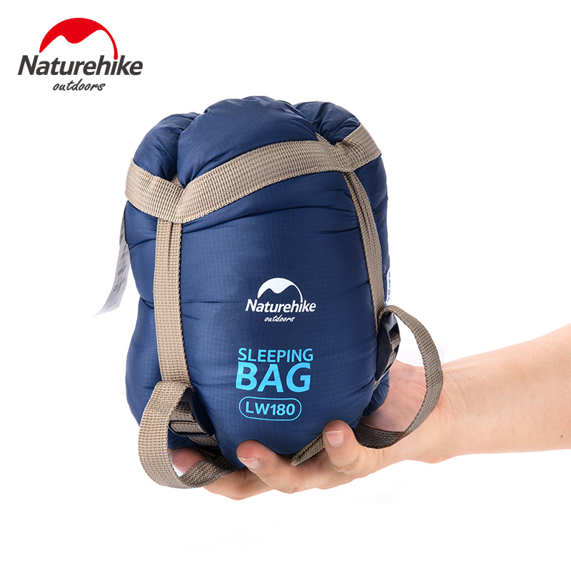 NatureHike Ultralight Compressie Slaapzak 5 Kleuren Camping Wandelen Klimmen Warm Houden Dubbellaags Lazy Bag 1900x750mm