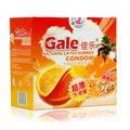 (50pcs) New Gale Citrus Aroma Orange Condom Ultra Thin Condoms For Men Safe Sex Adult Games Toys