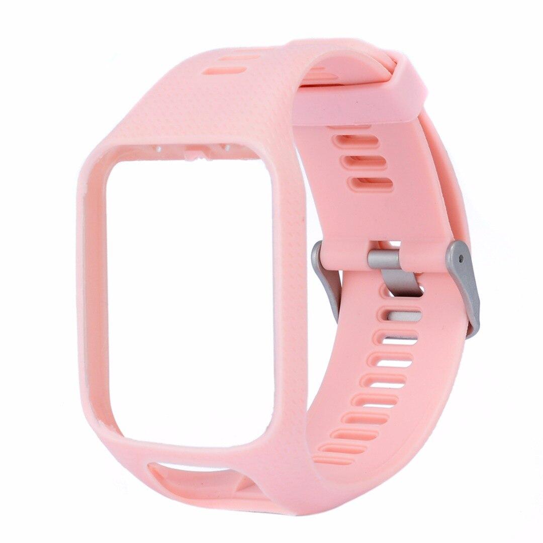 Mayitr открытый замена силиконовые запястье ремешок для TomTom Гольфист 2 авантюрист Runner 2 3 Spark 3 Спорт GPS часы