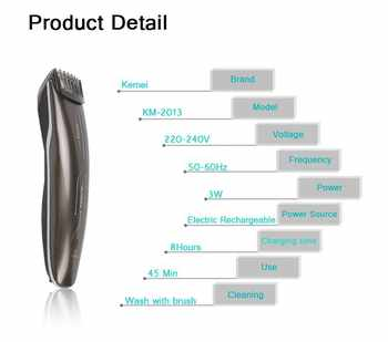 hair cutting beard trimmer maquina de cortar o cabelo kemei hair clipper hair trimmer styling tools hair shaving machine