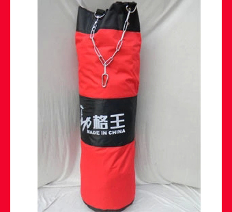 Free Shipping 100cm Sandbag Mma Kick Boxing Punching Bag Martial Arts Mma Focus Target Pad Training Kick Sand Bag Boxing Kendo