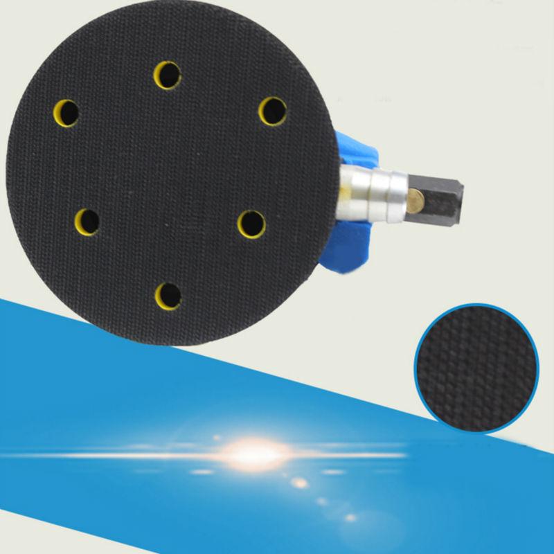 5 pollici aria orbitale casuale per levigatrice palmare e lucidatore - Utensili elettrici - Fotografia 2