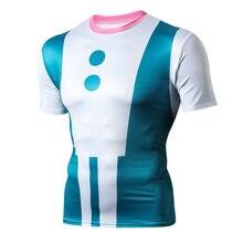 3ec4e2d4d1b 3D печатная спортивная одежда мой герой Академия колготки беговая рубашка  мужская футболка компрессионные Рубашки Тренажерный за.