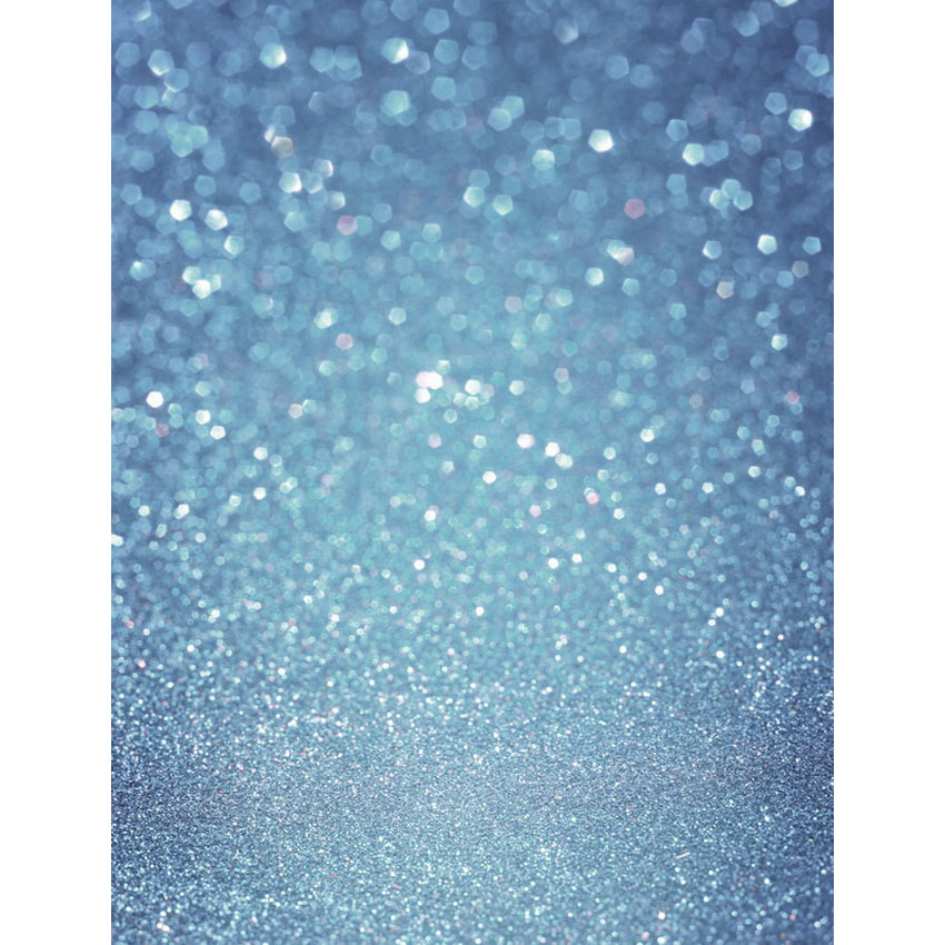 Customize vinyl cloth print blue facula bokeh photography backgrounds for newborn photo studio photographic backdrops S-2474