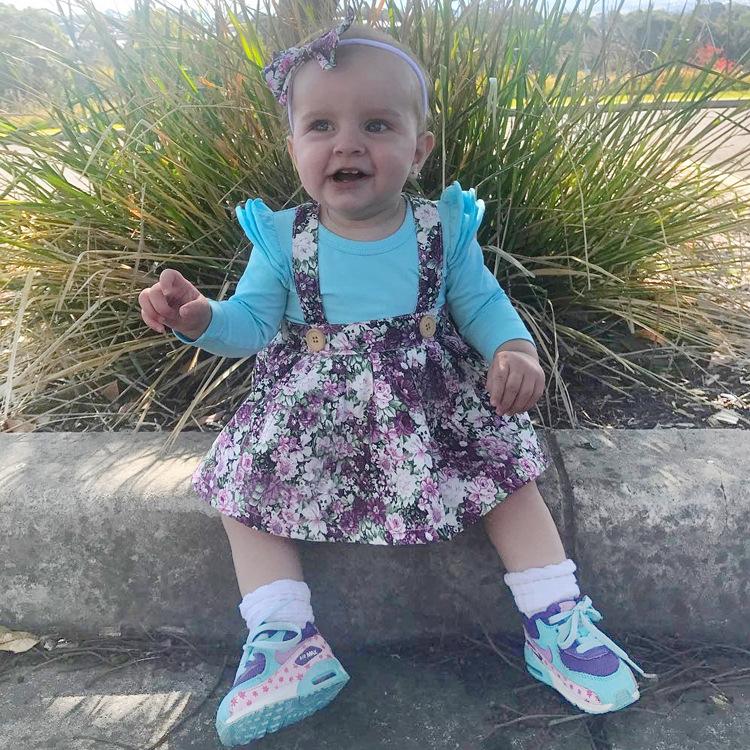 HTB1q5CEeMjN8KJjSZFCq6z3GpXa9 - 1-4y Summer Children Clothing Floral Girl Skirt Cotton Cute Toddler Suspender Skirts for Baby Girls Clothing