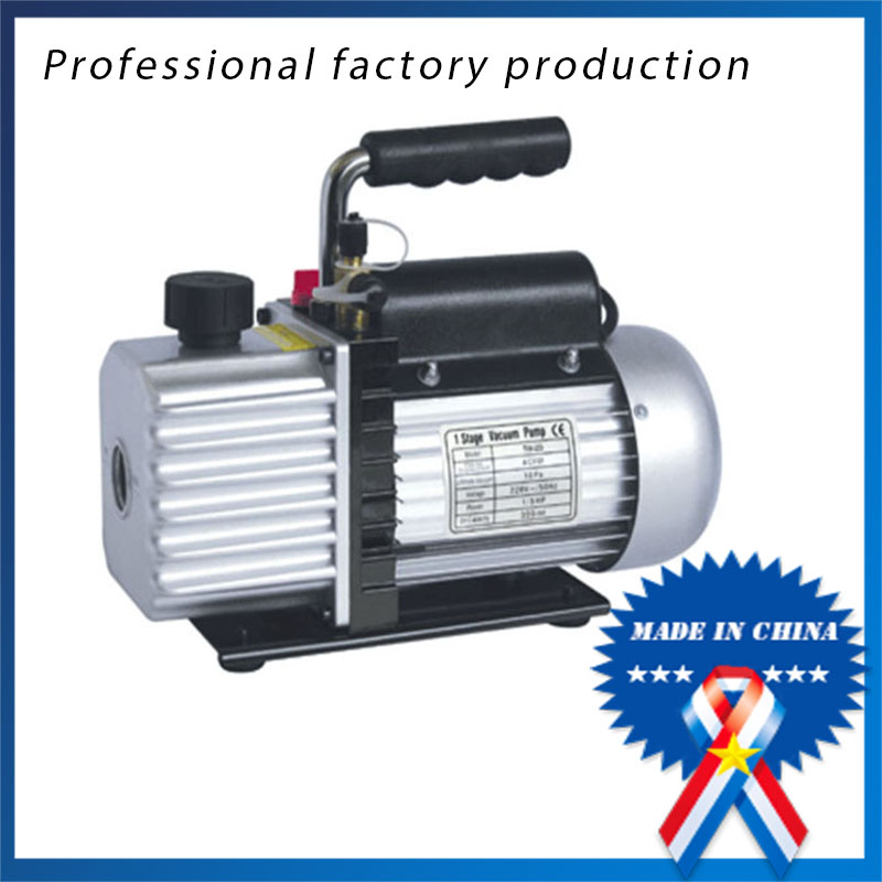Free Shipping 1/4hp Vacuum Air Pump Mini Vacuum Pump For Refrigeration Repair