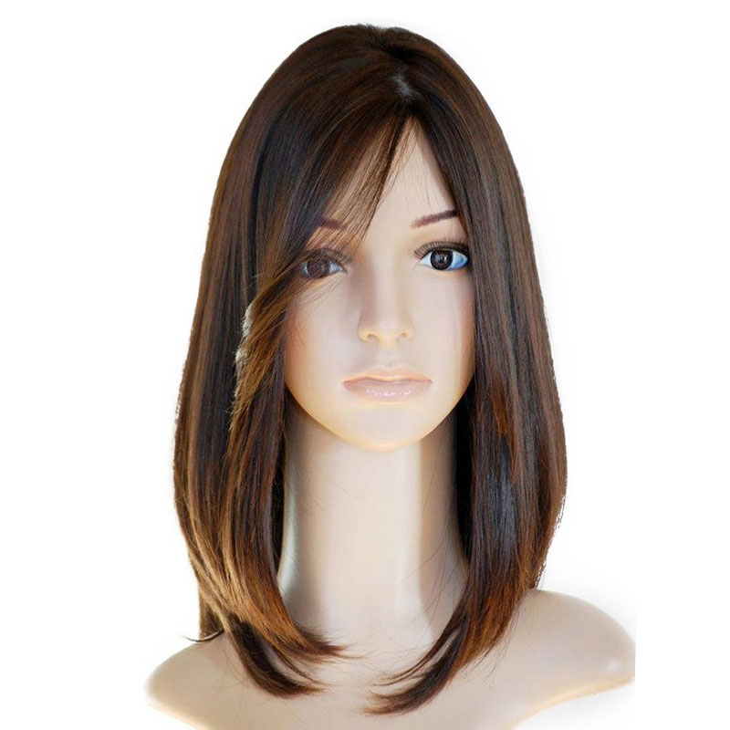 Jewish Wig Silk Base Lace Front Human Hair Wigs Pre Plucked European Remy Hair With Baby Hair Pre Colored Comingbuy
