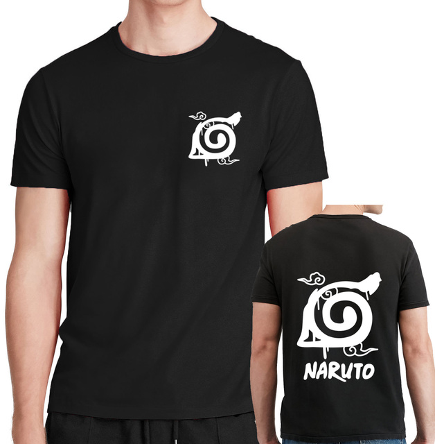 Naruto Men Printed Short Sleeve T Shirt