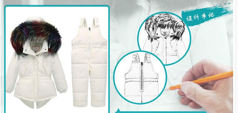 1-3-_05  Kids's Clothes Winter Lady Go well with Ski Jacket -30 Diploma Russian Boys Ski Sports activities Down Jacket +Jumpsuit Units Thicker Overalls HTB1q5DilmYTBKNjSZKbq6xJ8pXad