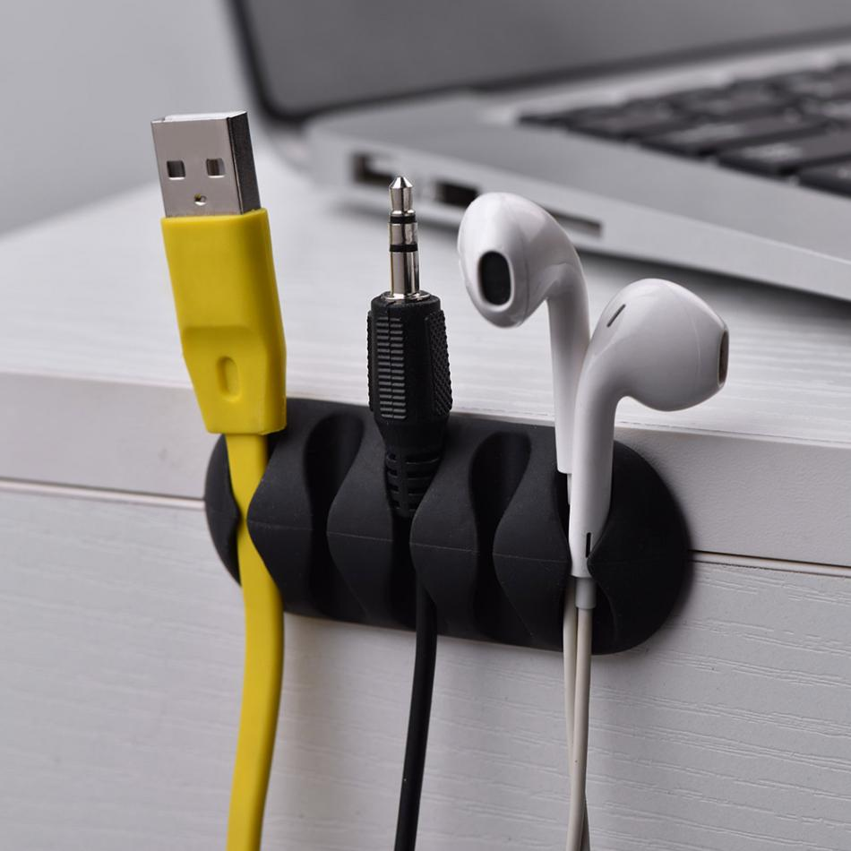 10 stücke Universal Büro Kabel Clips Desktop Kabelhalter ...