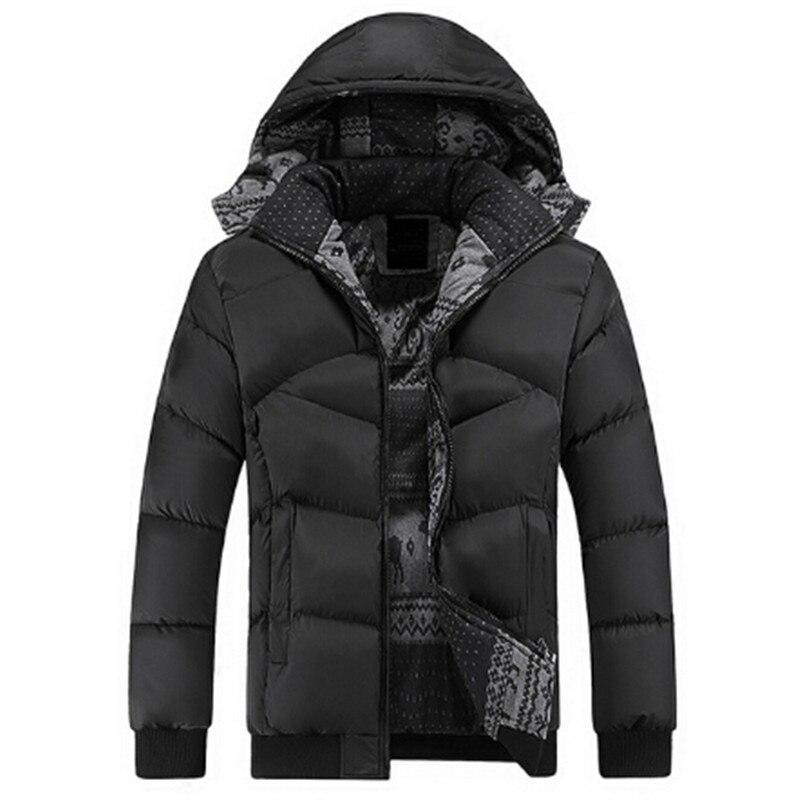 Подробнее о 2017  Brand Clothing Winter Jacket Men Casual Jacket Thick Men Hooded Warm Men's Coats and Jackets 2017 men winter jacket hooded cotton down warm jackets and coats male casual thick outwear men